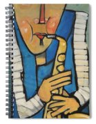 Learn To Work The Saxophone Spiral Notebook