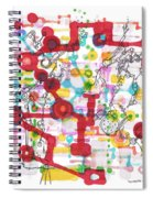 Learning Circuit Spiral Notebook