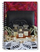 Leather And Lace 2 Spiral Notebook