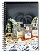 Leather And Lace 3 Spiral Notebook