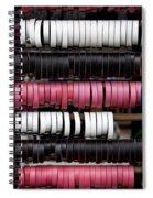 Leather Bracelets Spiral Notebook