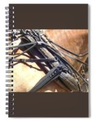 Leather Smell Spiral Notebook