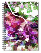 Leave In Autumn Spiral Notebook