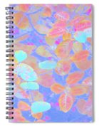 Leaves 20 Spiral Notebook