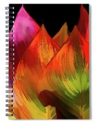 Leaves Aflame Spiral Notebook