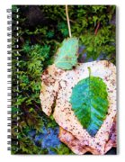 Leaves In A Pile Spiral Notebook