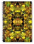 Leaves In The Fall Design Spiral Notebook