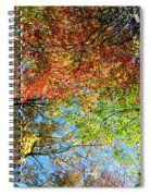 Leaves Of All Colors Spiral Notebook
