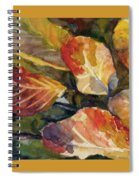 Leaves On A Pond Spiral Notebook