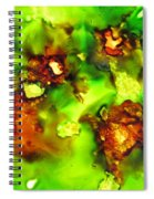 Leaves On The Stream Spiral Notebook