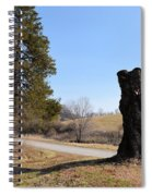 Leaving Dairy Road Spiral Notebook