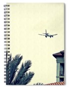 Leaving On A Jet Plane 1      Spiral Notebook