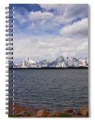 Leaving The Grand Tetons Spiral Notebook