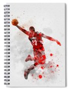 Lebron James Spiral Notebook