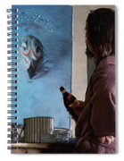 Lebwoski Makes His Peace With The Eagles - The Big Lebowski Spiral Notebook