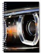 Led Headlights Spiral Notebook