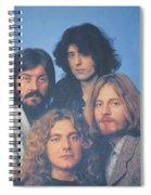 Led Zeppelin Spiral Notebook