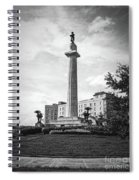 Lee Circle New Orleans Spiral Notebook