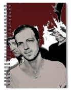Lee Harvey Oswald Dallas Police Station Dallas Texas Unknown Photographer 1963-2016 Spiral Notebook