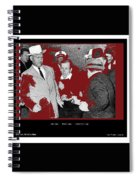 Lee Harvey Oswald Shot By Jack Ruby Photo Taken By  Dallas Times Herald Photographer Bob Jackson  Spiral Notebook