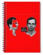 Lee Harvey Oswald's Mug Shot Dallas Texas  November 23 1963 Spiral Notebook