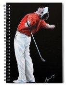 Lee Westwood Spiral Notebook