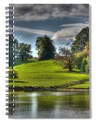 Leeds Castle Lake View Spiral Notebook