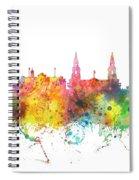 Leeds England Skyline Spiral Notebook