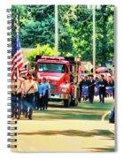 Leeds Fire Dept. 2 Spiral Notebook