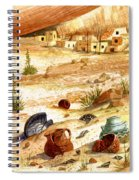 Left Behind - Indian Pottery Spiral Notebook