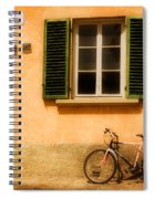 Left Flat In Lucca Spiral Notebook