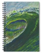 Left Of Ellicot Spiral Notebook