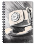 Left Off The Hook Spiral Notebook