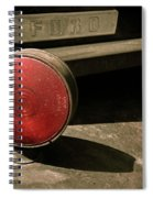 Left Turn Signal Spiral Notebook