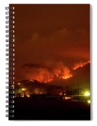 Lefthand Canyon Wildfire Boulder County Colorado 3-11-2011 Spiral Notebook