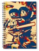 Lego Star Wars IIi The Clone Wars Spiral Notebook