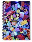 Legos Spiral Notebook