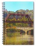Lehigh River - Easton Pa Spiral Notebook
