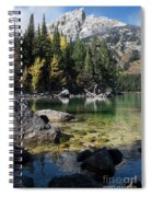 Leigh Lake Cove Spiral Notebook