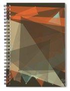 Lemans Polygon Pattern Spiral Notebook