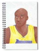 Lemar Odom Spiral Notebook