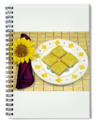 Lemon Candy Bars Spiral Notebook