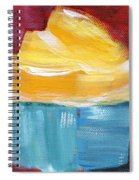 Lemon Cupcake- Art By Linda Woods Spiral Notebook