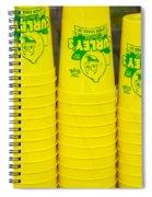 Lemon Cups Spiral Notebook