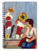 Lemon Eis Spiral Notebook