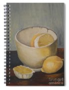 Lemon In A Bowl Spiral Notebook