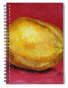 Lemon Pink Spiral Notebook