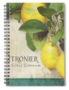 Lemon Tree - Citronier Citrus Limonum Spiral Notebook