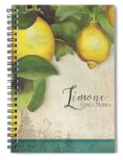 Lemon Tree - Limone Citrus Medica Spiral Notebook