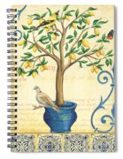 Lemon Tree Of Life Spiral Notebook